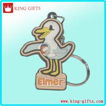 2D elmer pvc key chain