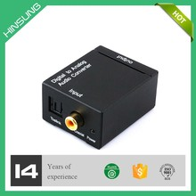 Digital audio to analog audio 5.1 converter