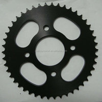 1045# steel high quality motorcycle parts for shineray of material c45 carbon steel sprocket /motorcycle sprocket 428 15t