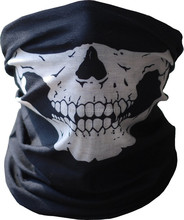 Delivery from USA Los Angeles Tube Mask Neck Gaiter Dust Shield sports face balaclava seamless headwear skull face bandana
