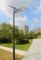 Green Power Solar Energy Products All In One Led Street Lamp Post