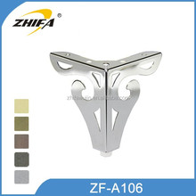 ZF-A106 stainless steel metal furniture leg
