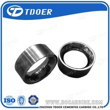 non standard of ip black plated tungsten carbide ring