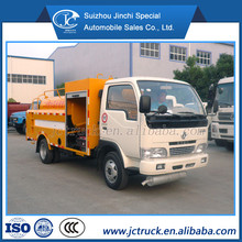 DongFeng 4X2 3T small capacity road washing vehicle
