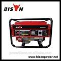 Bison ( CHINA ) alta calidad de OEM / ODM marca Suzuki generador BS3000 uso en el hogar con precio de fábrica
