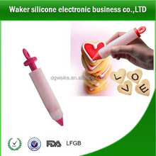 promotional tool items New Refillable Cake Cookie Chocolate Frosting Lettering Silicone Decorating Pen