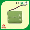 Ni-MH industrial use AA pack battery 3.6V 2100mAh rechargeable battery