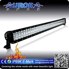 """High level efficiency 40"""" double row motorcycle led driving lights"""