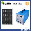 solar pv power system 100w mini project solar power system