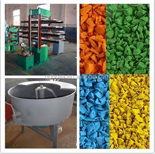 high quality hydraulic press machine for rubber wall tile/outdoor basketball court rubber floor tile