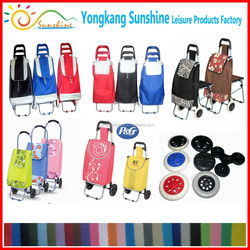 Cheap High Quality Folding shopping trolley bag,shopping cart trolley