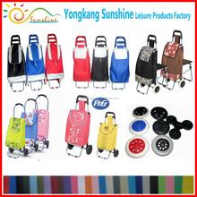 Cheap High Quality Folding shopping trolley bag,shopping cart trolley
