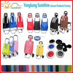 Folding shopping cart bag, grocery shopping carts, foldable shopping trolley