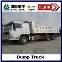 Low price howo 336hp dump truck/tipper truck with high quality