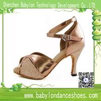 Sexy lady Latin dancing sandal women high heel dress shoes salsa cha-cha dance shoes
