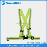running riding simple warning reflective safety belt vest