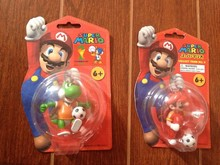 Nintendo Super Mario Keychain Figure with football