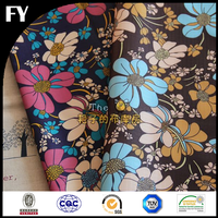2015 Summer digital print 100 polyester interlock jersey fabric