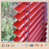 50mm environmental protection outdoor venetian window bamboo and wood blind