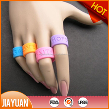 silicone rubber finger ring