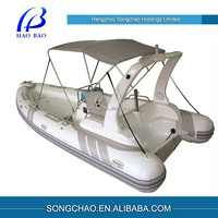 Inflatable Rubber Motor Boat for Fishing