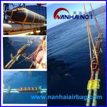 inflatable launching and lifting boat airbag