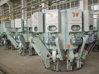 10 Spouts Automatic Rotary Cement Filling Machinery