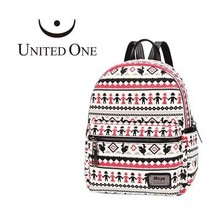 Aztec print fashion backpack
