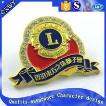 zinc alloy metal car badges