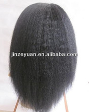 Unprocessed human virgin hair full lace wig,cheap brazilian hair wig
