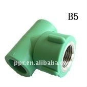 Superior Quality PPR Pipe And Fitting Of Female Tee For Pipe Joint