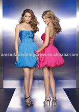 Real Picture 2012 Sexy Fashion Satin Halter Beaded Classic Purple Long Train Gown Evening Dress Prom Gown Formal Dresses