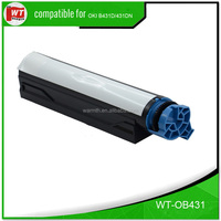 High Quality Toner Cartridge Compatible for OKIdata B411d/411dn/431d/431dn/MB461/471/491, 3K pages
