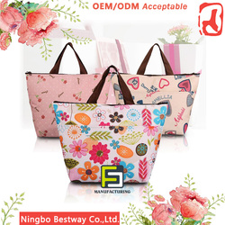 Wholesale insulated cooler bag, picnic cooler bags, disposable wine cooler bag for frozen food