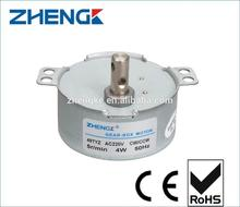 Customized Shaft century small ac motor For Fibre Rotation Light