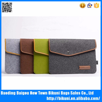 Envelope 13.3 inch Laptop Sleeve Woolen Felt Case Cover Bag