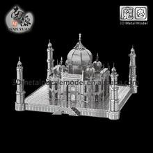 Educational toys 3D metal model Taj Mahal 3D Building Puzzle