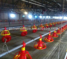 Agricultural Equipment design chicken house,poultry automatic feeding system