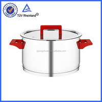 3-Ply Kitchenware Stainless Steel induction stone pot cooking