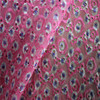 small flower printed fabric pink embroidery fabric dgital printed fabrics