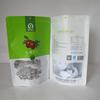 alumimun foil apparel packaging bag with zipper lock
