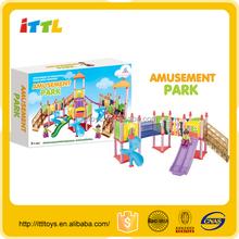 new design children park toys for sale car parking toy plastic amusement park toys