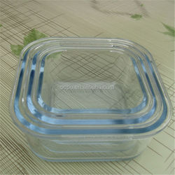 High temperature resistance freezer containers for meals