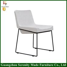 modern comfortable relaxing chair steel legs
