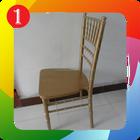 Cadeira banquete madeira