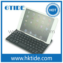 bluetooth wireless keyboard with cover for apple ipad mini hot sell keyboard cover