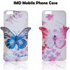 3D iStyle TPU IMD phone cover case for iPhone6 , 3D butterfly IMD for custom iphone case