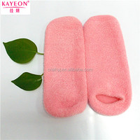 Powerful pedicure foot spa massage chair foot and leg spa Feather yarn Gel socks for lady