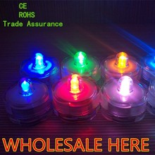 New Style Led Candle Light Submersible,submersible candle