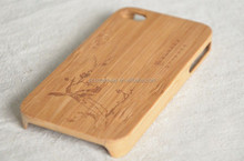 Simple design Bamboo Cell Phone Case For Mobile Phone